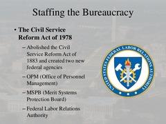 Civil Service Reform Act (1978)