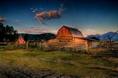 Clustered rural settlement