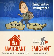 Emigration vs. Immigration