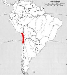Where is the Atacama Desert ?